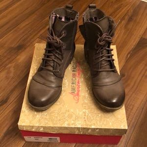 American Rag Combat-style boots size 7.5 US